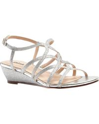 Paradox London Pink - Opulent Wedge Sandal - Lyst