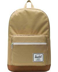 114bc3dfd3c9 Lyst - Herschel Supply Co. Pop Quiz Cotton Canvas Backpack for Men