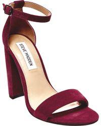 Steve Madden - Carrson Ankle Strap Sandal - Lyst