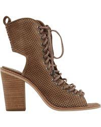 b4be8e0b586 Lyst - Dolce Vita Women s Lira Perforated Sandal in Brown