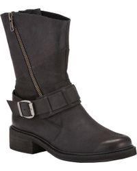 Walking Cradles Dallas Wide Calf Boot - Black