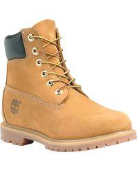 "Timberland Waterproof 6"" Premium Boots - Natural"