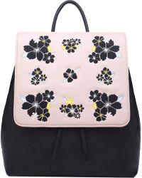 Catherine Malandrino Teagan Embroidered Backpack - Multicolor