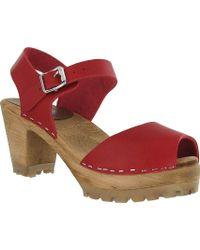 MIA - Greta Ankle Strap Sandal - Lyst