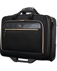 Samsonite Mobile Solutions Upright Wheeled Briefcase - Black