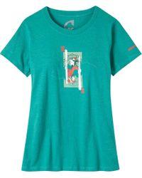 Mountain Khakis Royal T-shirt - Blue