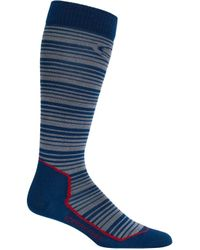 Icebreaker - Ski+ Ultra Light Over The Calf Horizons Sock - Lyst