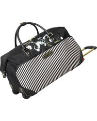 Vince Camuto Large Weekend Overnight Duffel Travel Bag, Black, One Size