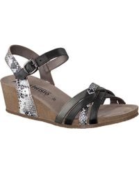 Mephisto - Mado Strappy Wedge Sandal - Lyst