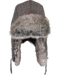 77319aaf853 Lyst - Stetson Boulder Fur Trapper Hat in Green for Men