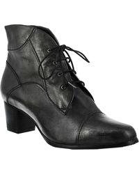 Spring Step Larma Ankle Bootie - Black