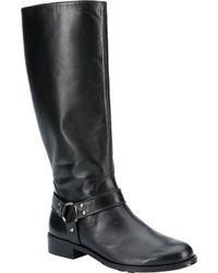 Walking Cradles Kristen Wide Shaft Harness Boot - Black