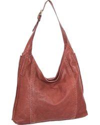 Nino Bossi Nieve Leather Hobo - Brown