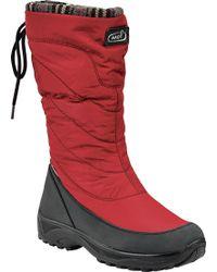 Naot Montana Snowbird Snow Boot - Red