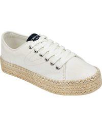 Tretorn Eve Espadrille Sneaker - White