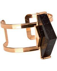 San Diego Hat Company - Triangle Stone Cuff Bracelet Bsj3514 - Lyst