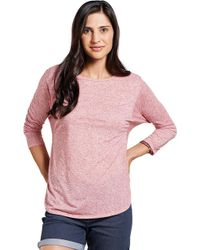 Toad&Co - Ember 3/4 Sleeve Tee - Lyst