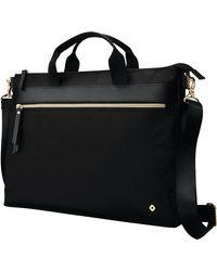 Samsonite Mobile Solutions Convertible Slim Briefcase - Black