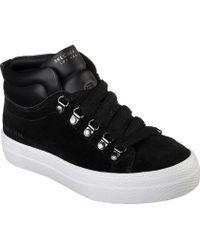 Skechers Alba Street Hype High Top Sneaker - Black