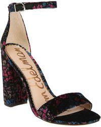 Sam Edelman - Yaro Ankle Strap Sandal - Lyst
