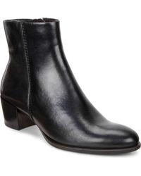 Ecco Shape 35 Ankle Bootie - Black
