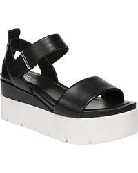 Franco Sarto Vanjie Sporty Platform Sandal - Black
