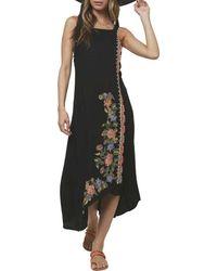 O'neill Sportswear Lani Tank Midi Dress - Black