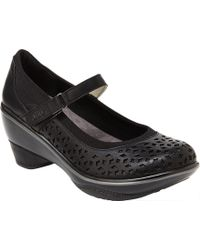 dc24f549cfd Shoes.com · Jambu - Jbu Alicante Wedge Mary Jane - Lyst