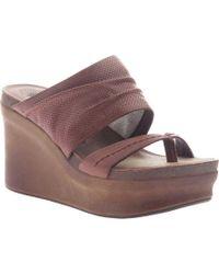 Otbt - Tailgate Heeled Sandal - Lyst