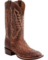 Lucchese Bootmaker   Garrett W Toe Cowboy Boot   Lyst