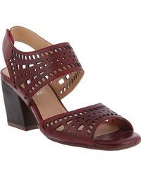 e00c68c586 Spring Step - Zemora Ankle Strap Sandal - Lyst