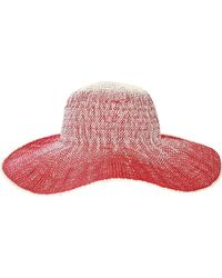 Lyst - San Diego Hat Company Chl5 Floppy Sun Hat in Blue dc1aeca3f9b7
