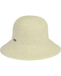 Betmar Gossamer Mini Straw Hat - Natural