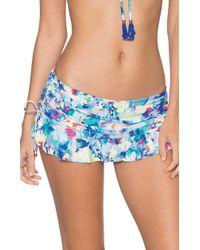 Swim Systems Flirty Skirt Bottom C286medw - Blue