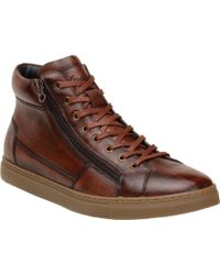 Belvedere Baltazar High-top Sneaker - Brown