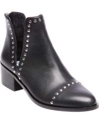 77ccc079690 Lyst - Steve Madden Conspire Fashion Boot in White - Save 54%