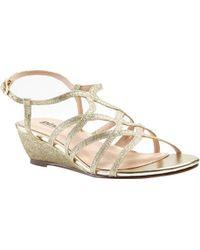 Paradox London Pink - Opulent Wedge Sandal - Lyst