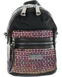 Bernie Mev Bm38 Cross Body Mini Backpack - Black