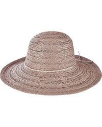 San Diego Hat Company - Paperbraid Round Crown Floppy Hat Pbl3078 - Lyst