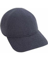 1a82aefaba9 Lyst - Converse Slouchy Rib Knit Beanie in Gray