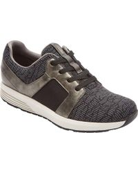 Rockport - Trustride Knit Tie Sneaker - Lyst