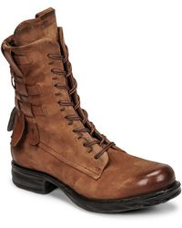 A.s.98 Boots SAINTEC - Marron