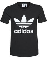 adidas T-shirt TREFOIL TEE - Noir