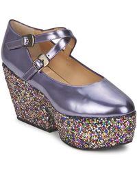 Minna Parikka KIDE Chaussures escarpins - Métallisé