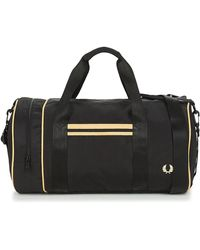 Fred Perry Sac Barrel Twin Tipped - Noir