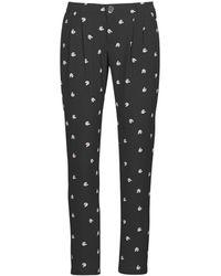 IKKS BR22125 Pantalon - Noir