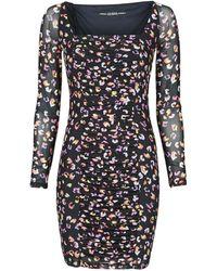 Guess GAYLE DRESS Robe - Noir