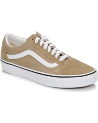 Vans Chaussures En Daim Old Skool - Neutre