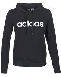 adidas Essentials Linear Pullover Sweat-shirt - Noir
