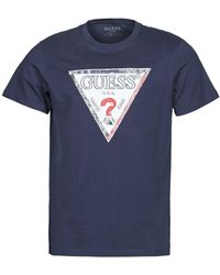 Guess - TRIESLEY CN SS TEE T-shirt - Lyst